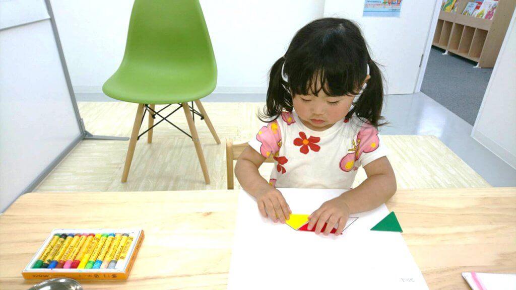 折り紙は知育にもってこいです