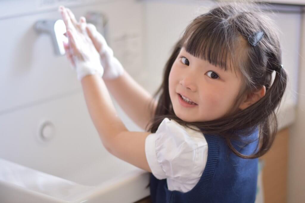 手洗いうがいも大切