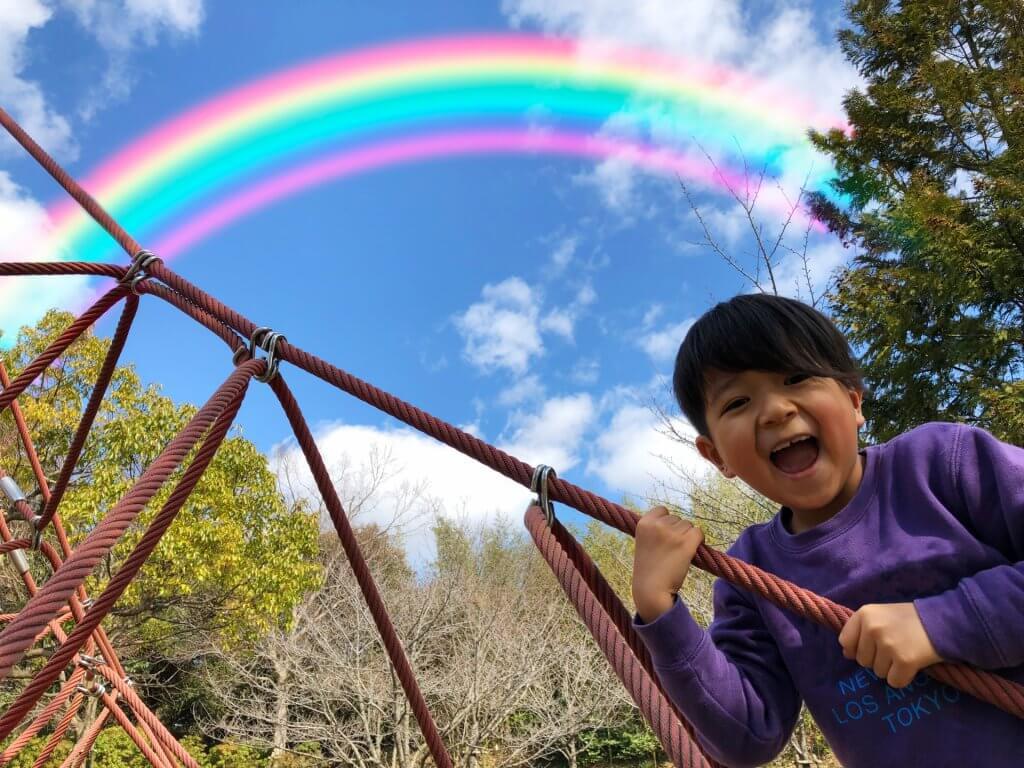虹はなんで七色なの
